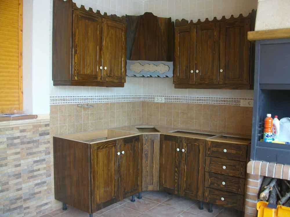 Cocina rustica carpinter a antonio jos - Puertas de cocina rusticas ...